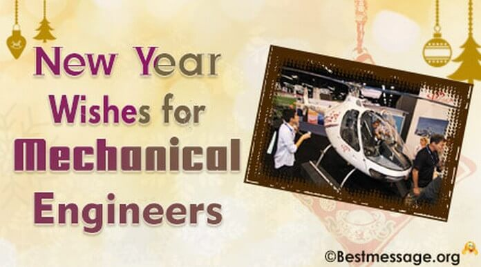 New Year wishes for mechanical engineers