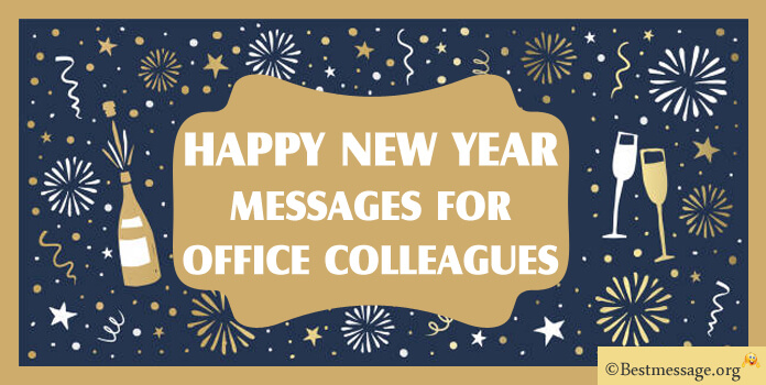 New Year Messages to Office Colleagues