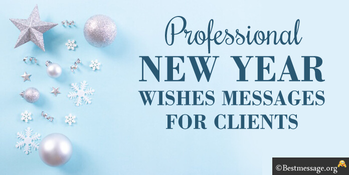 Professional New Year Messages for Clients