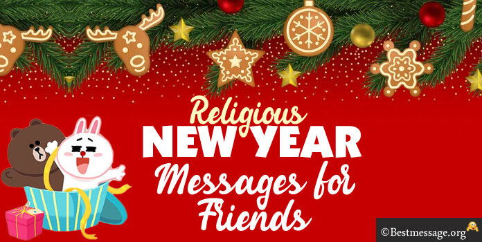 Religious New Year messages for friends