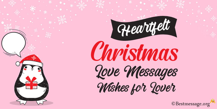 Romantic Lover Christmas Messages