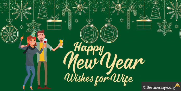 New Year Greetings Messages for Wife