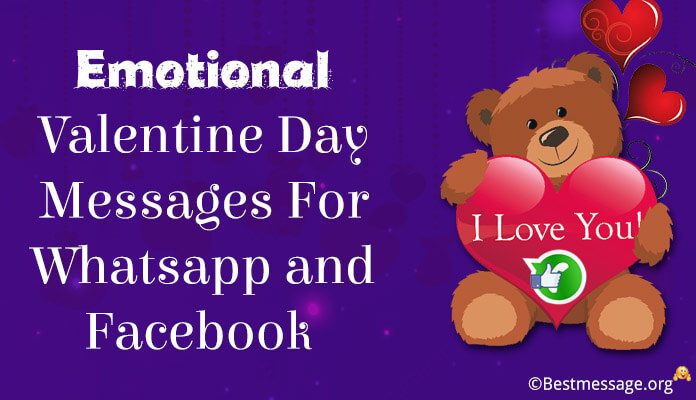 emotional valentine day messages wishes whatsapp and facebook