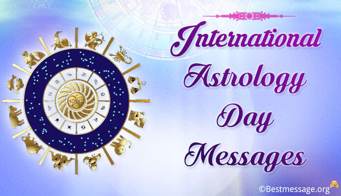 International Astrology Day Wishes and Messages