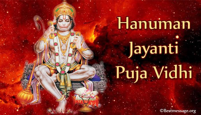 Hanuman Jayanti Puja Vidhi
