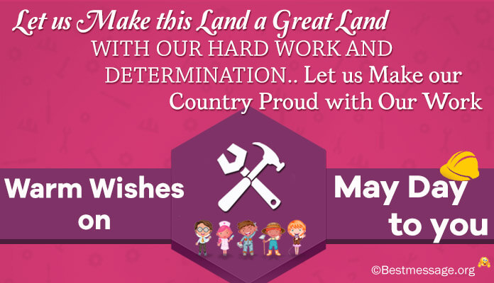 May Day wishes greeting cards International Workers Day messages Images