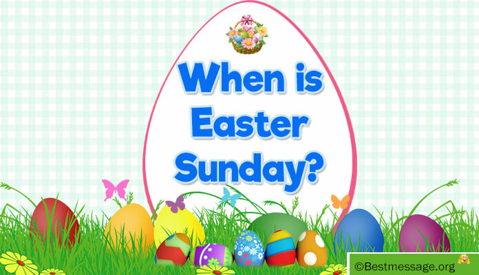 When Is Easter Sunday in 2017