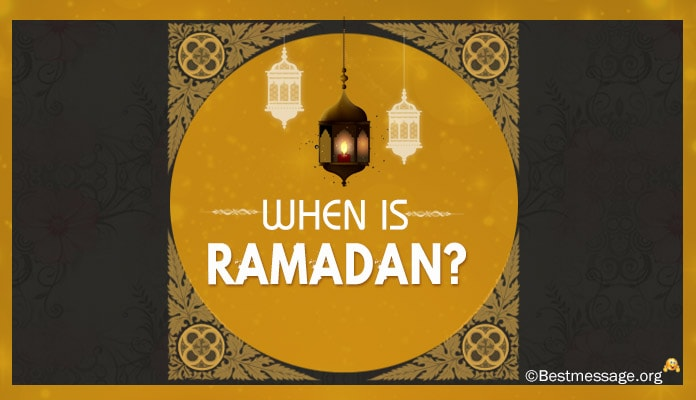 When is Ramadan 2017, 2018, 2019