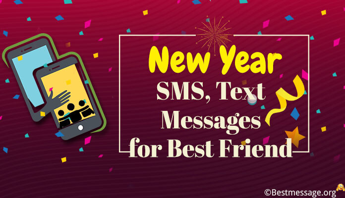 Short New Year Messages Best Friend | Best New Year Wishes Image, wallpaper