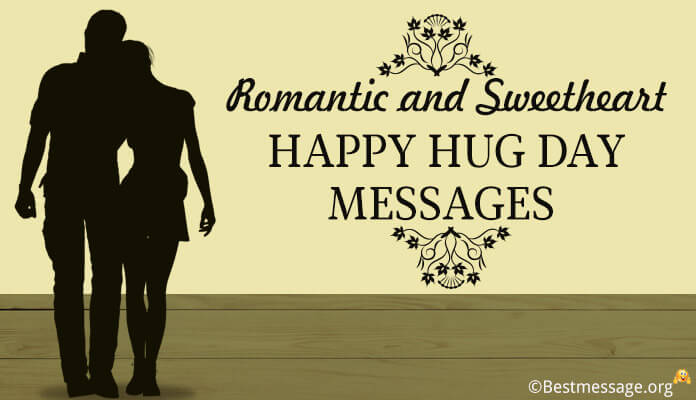 Happy Hug Day 2018 Wishes Romantic and Sweetheart Love Messages Quotes Image wallpaper
