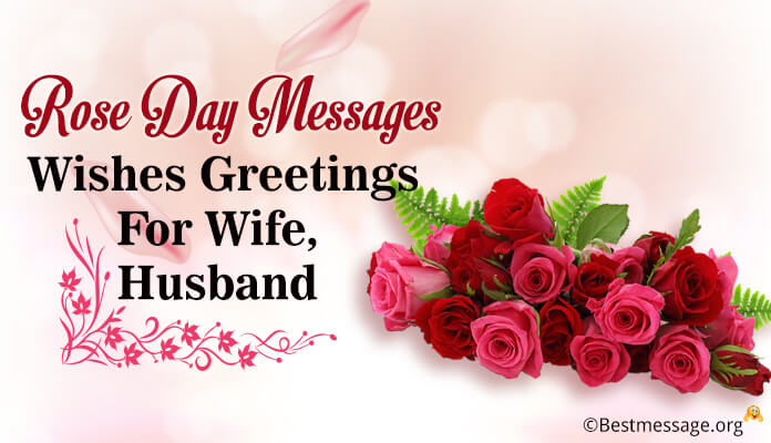 special Rose Day Greetings Messages, romantic Wishes Wife and Husband