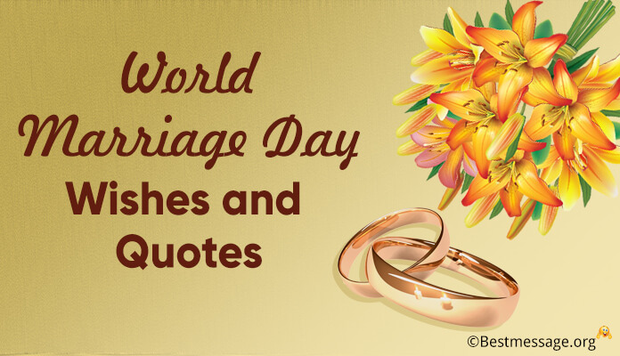 World Marriage Day Wishes and Quotes, Wedding Anniversary Messages images
