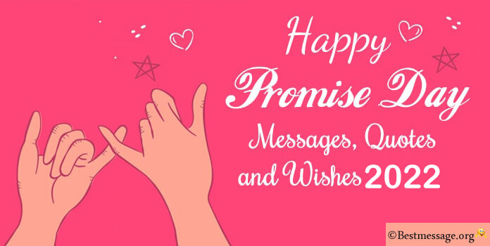 Short Promise Day Wishes, Quotes and Messages Images, Photos