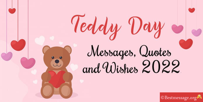 Teddy Bear Day 10 February Cute Teddy Day Messages, Wishes