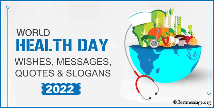Beautiful World Health Day Greeting Cards Messages, Wishes and Slogans Image