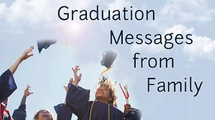 Graduation Messages from Family