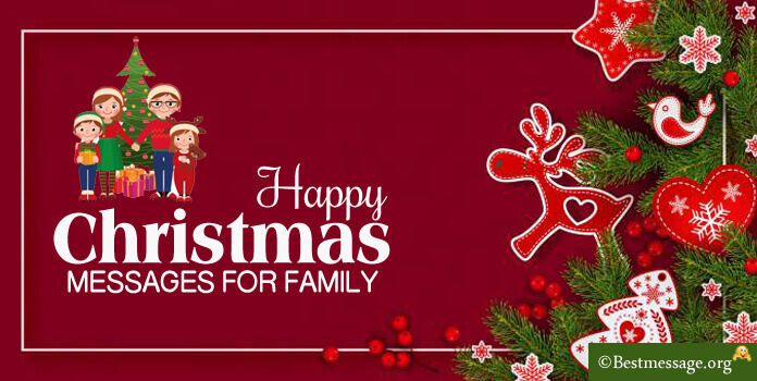 Christmas Messages for Family