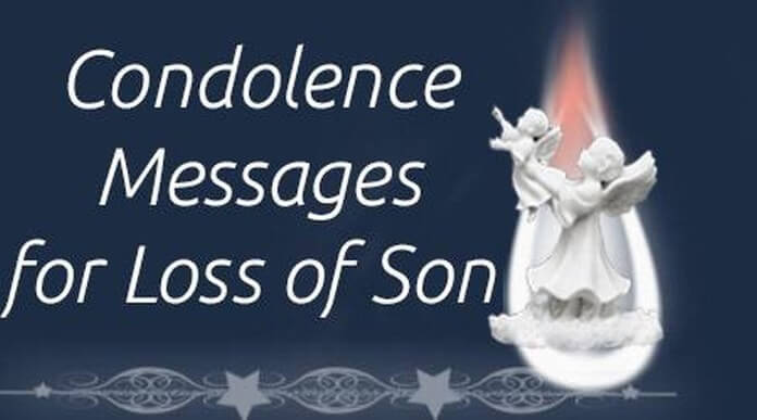 Condolence Messages for Loss of Son, Sympathy Message Death ...