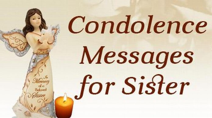 Sister Condolences Messages
