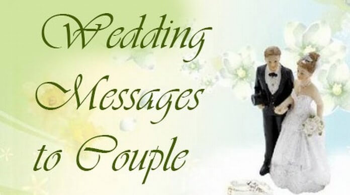Wedding Messages to Couple