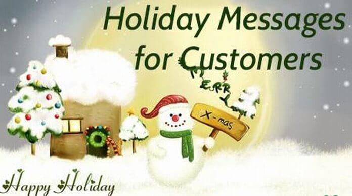 Holiday Messages for Customers