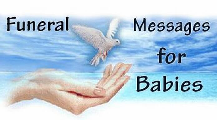 Babies Funeral Messages