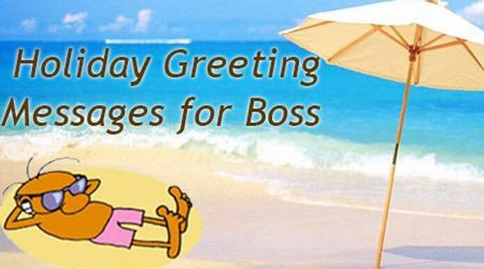 Holiday Messages for Boss