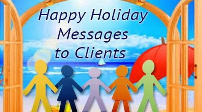 Holiday Messages to Clients