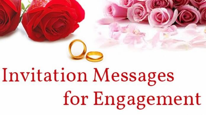 Invitation Messages For Engagement Sample Engagement