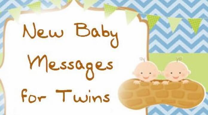 congratulations messages for newborn twins