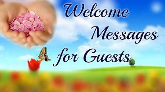 Welcome Messages for Guests