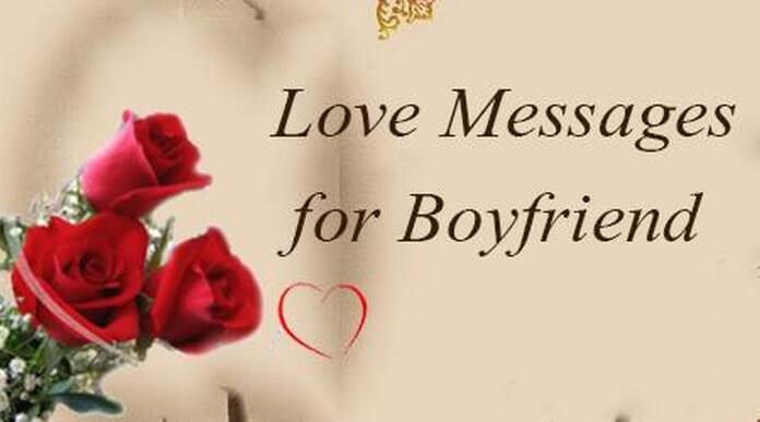 Love Messages For Boyfriend Romantic Love Text Messages