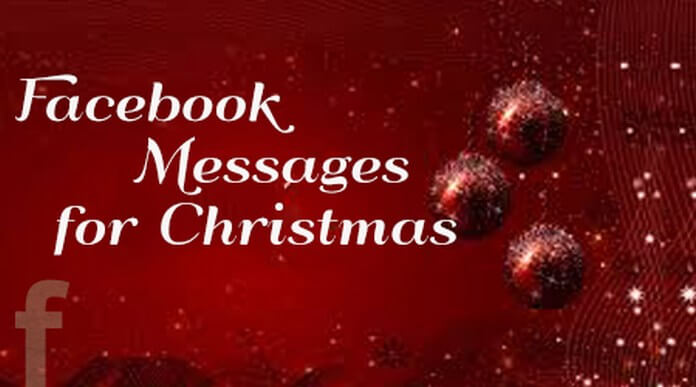 Facebook Messages for Christmas, Facebook Merry Christmas Message