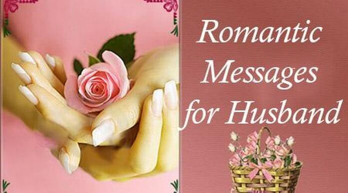 Romantic Text Messages for Husband