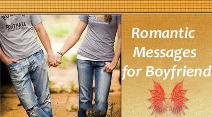 Boyfriend Romantic Message