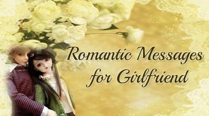Romantic text Messages for Girlfriend