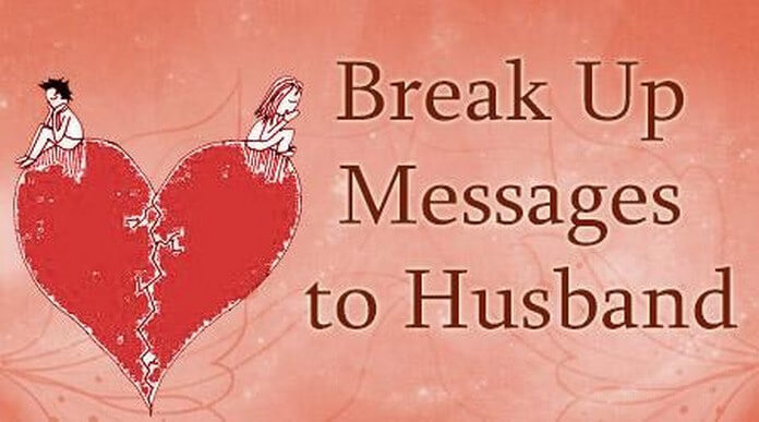 Husband breaks up Messages