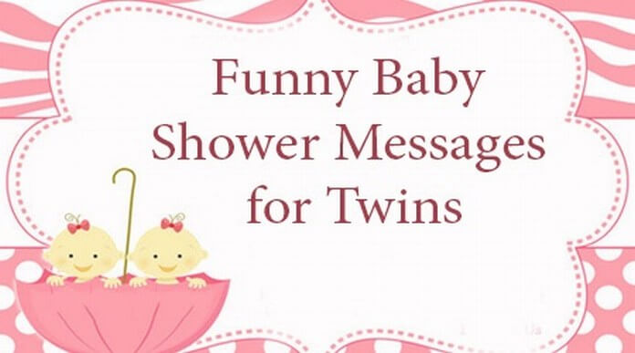 Funny Twins Baby Shower Messages