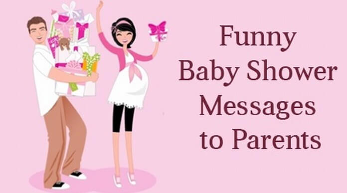 Funny Baby Shower Message to Parents