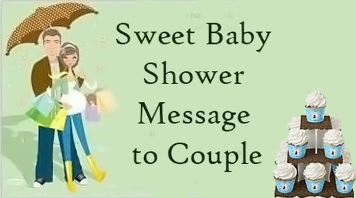 Sweet Baby Shower Message To Couple
