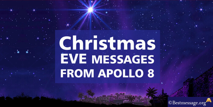 Christmas Eve Messages from Apollo 8