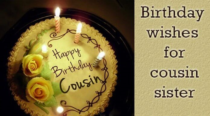 birthday wishes messages for cousin sister