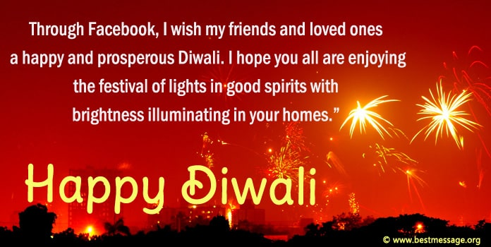 Happy Diwali Messages Facebook Status