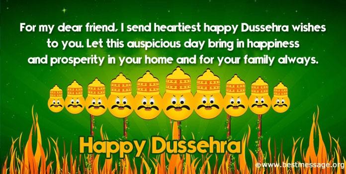 Happy Dussehra Wishes Quotes Photo