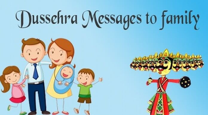 Dussehra Messages to Family