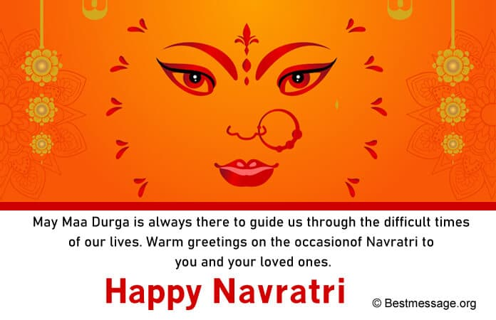Inspirational Maa Durga Quotes, Navratri Wishes Messages