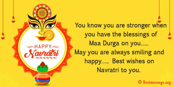 Navratri Messages, navratri greetings messages Image