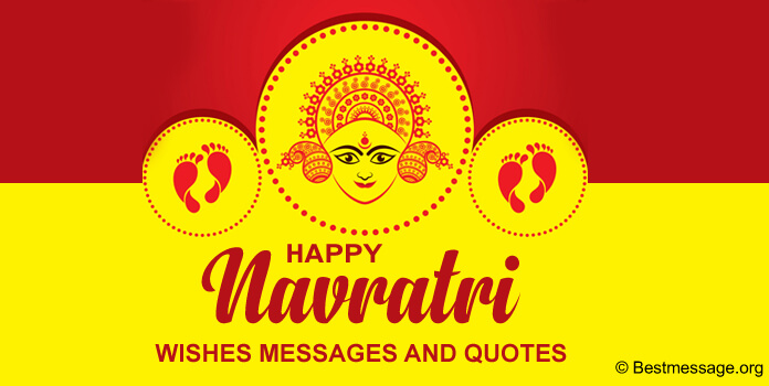 Navratri Messages, Navratri Wishes, Greeting Images