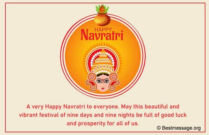 Navratri Whatsapp Status Messages, Wishes Image