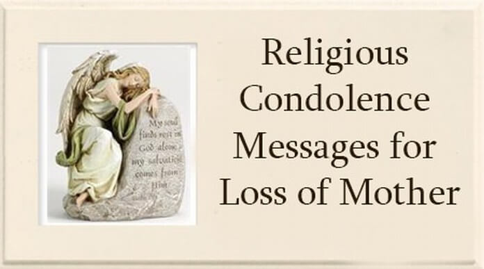 Religious condolence message loss of motherg popular messages m4hsunfo